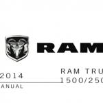 Dodge Ram handbook user's manual