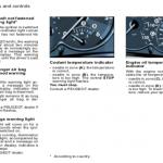 Insturmens panels of Peugeot 206