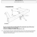 Honda Pilot manuals