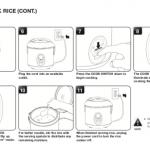 Aroma rice manual page