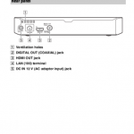 Sony BDP S3700 user manual page
