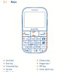 Alcatel 2001x user page manual