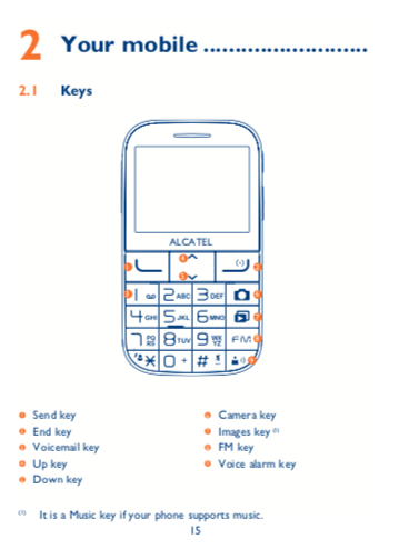 Download Alcatel 2001x user manual / Zofti - Free downloads